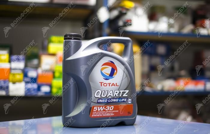Масло Total Quartz 5W-30 1 литр